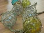 Japanese Fishing Floats with Netting